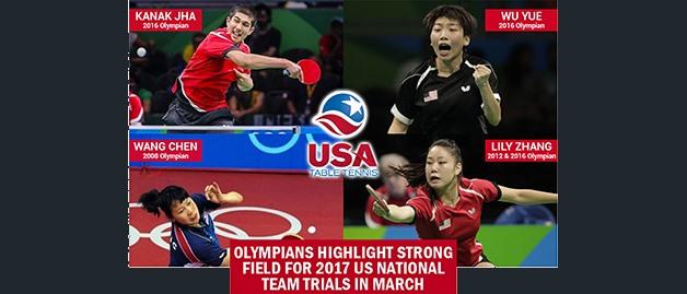 2017 USATT National Team Trials Photos, Results & Live Stream