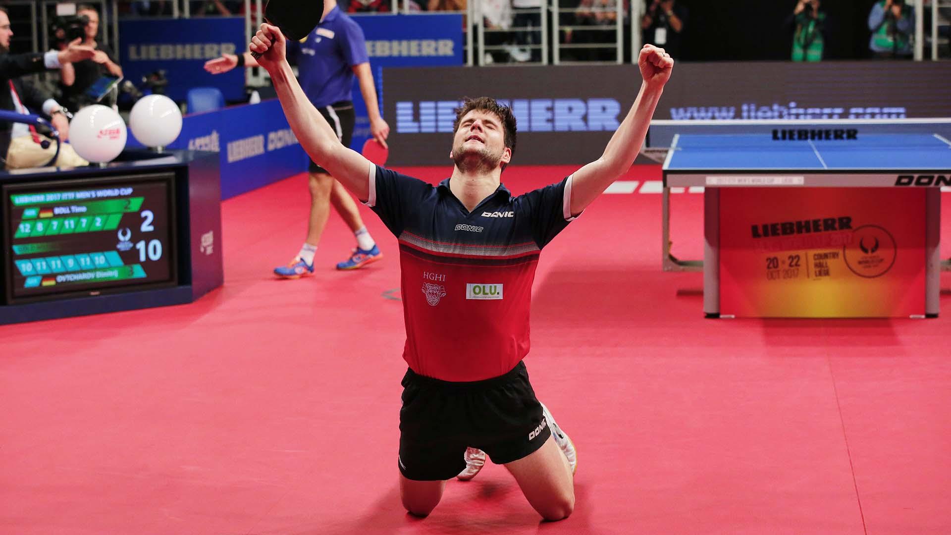 A step higher, Dimitrij Ovtcharov wins in Liège
