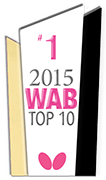 2015 WAB Top10 Table Tennis Clubs #1