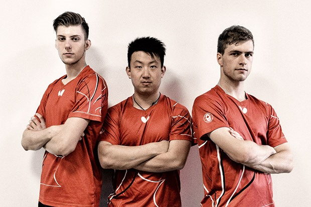 Table Tennis Canada Men's Team - 2015 Pan American Games