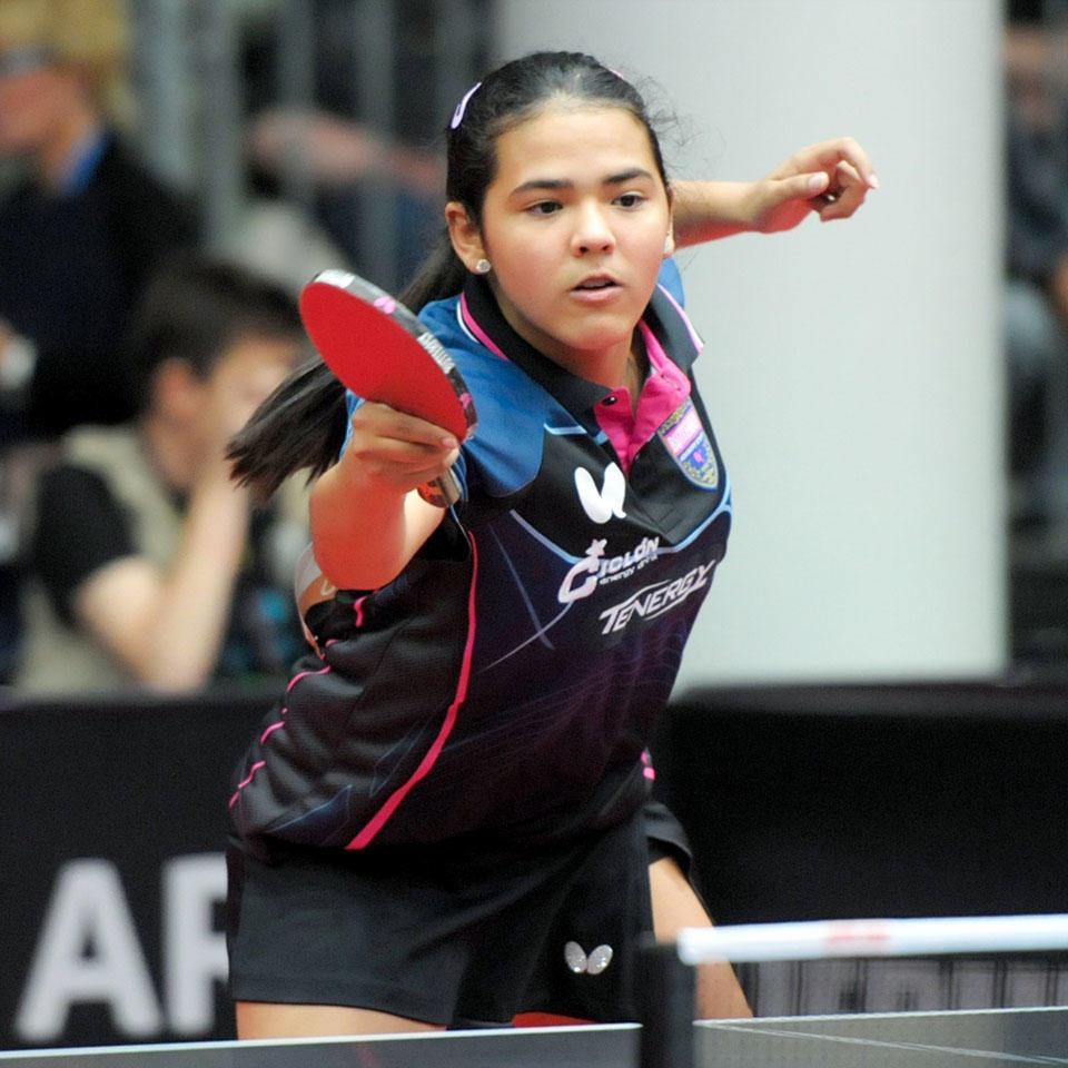 Adriana Diaz Table Tennis Team Member