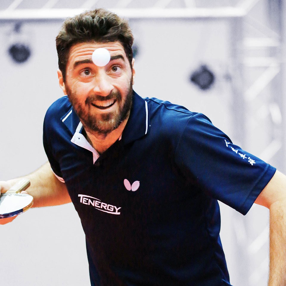 Panagiotis Gionis Table Tennis Team Member