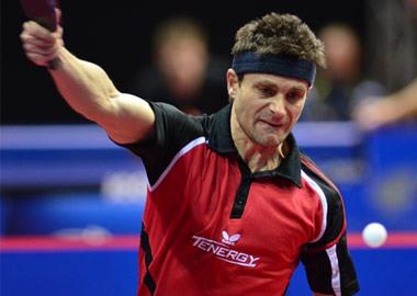 Table Tennis Player: Kalinikos Kreanga