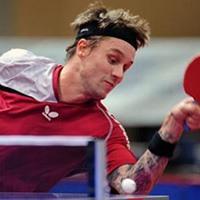 Michael Maze Table Tennis Team Member