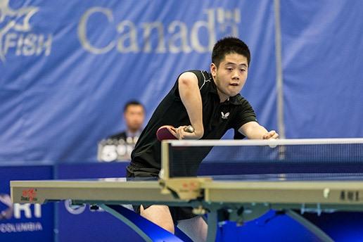 Coach Andre Ho - Photo courtesy of ITTF