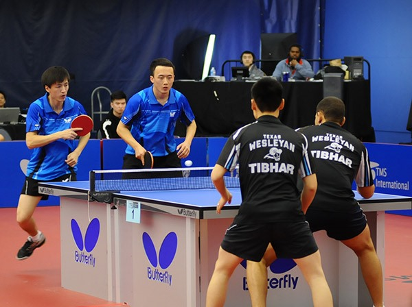 2015 college national table tennis championships butterfly online. Black Bedroom Furniture Sets. Home Design Ideas