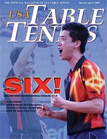 David Zhuang - 2009 USA Table Tennis Magazine Cover