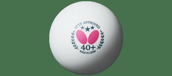 Butterfly 3 Star 40+ Plastic Ball