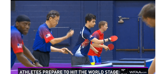 USA Paralympics Table Tennis Ready