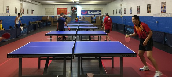 Washington DC Table Tennis Center (WDCTT)