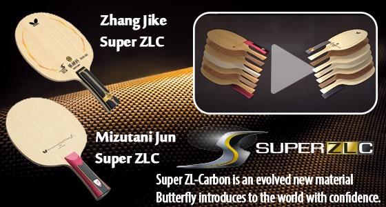 Blade Exchange: Zhang Jike Super ZLC - Mizutani Jun Super ZLC
