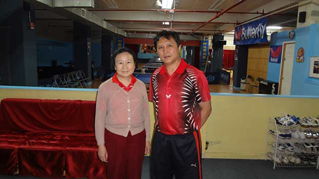 Training Video #2: Coach Li of New York International Table Tennis Center