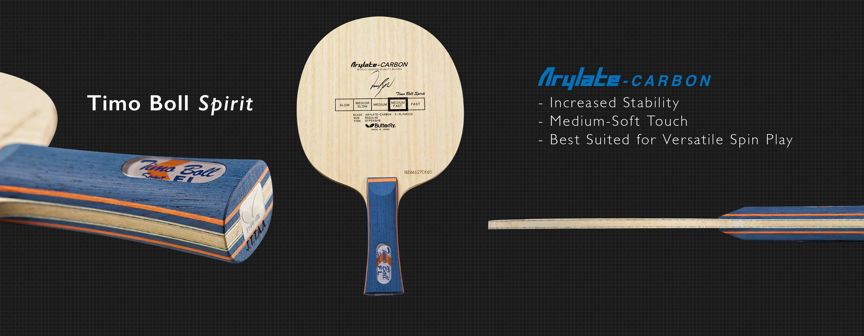 Butterfly Timo Boll Spirit Butterfly Online