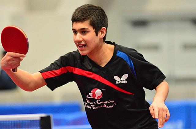 Kanak Jha 2015 Us National Table Tennis Championships