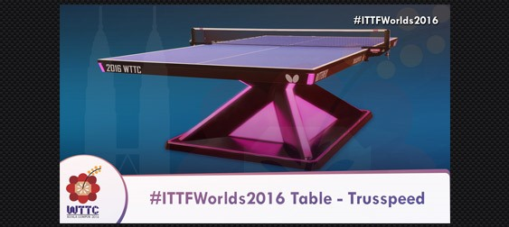 Butterfly 2016 world championships table tennis table - Butterfly table tennis official website ...