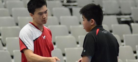 Ask The Experts: Adam Hugh, No. 87 - Coach Adam Hugh with Student