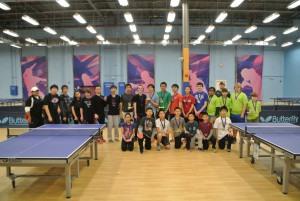 Triangle Table Tennis' Inaugural School League