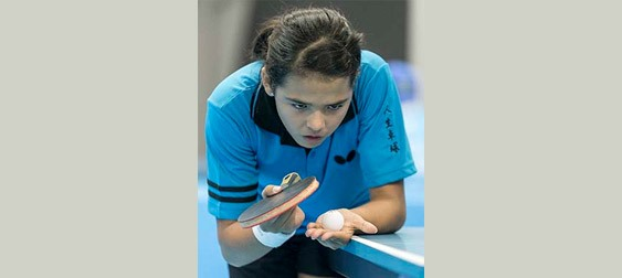 Youngest Players on Duty but Major Contenders for Olympic Places: Adriana Diaz - Photo courtesy of ITTF