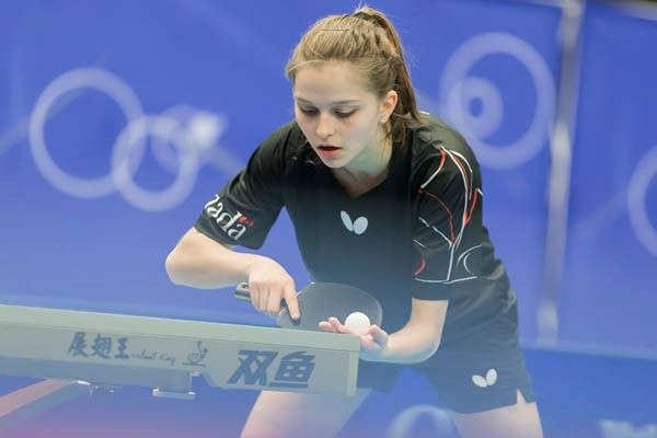 Alicia Cote, 2016 NA Olympic Table Tennis Qualifier, No. 2 ...