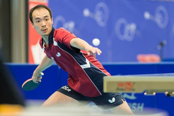 Timothy Wang, 2016 NA Olympic Table Tennis Qualifier, No. 1 ...