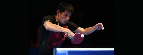2016 ITTF Asian Cup - Zhang Jike - Photo by Warren Little