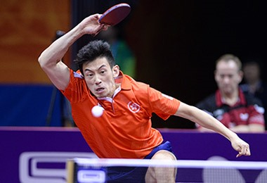 Wong Chun Ting Butterfly Sponsored Table Tennis Player