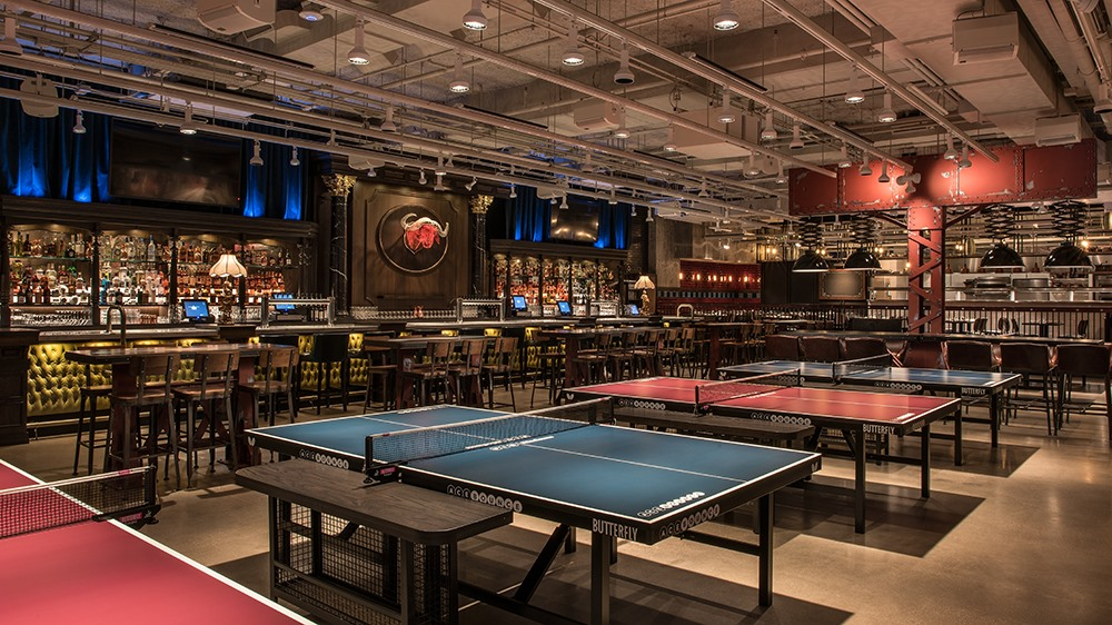 acebounce chicago ping pong bar restaurant social experience event spaces with award. Black Bedroom Furniture Sets. Home Design Ideas