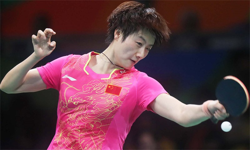 Ding Ning 2016 Olympic Games Gold Medalist Women S