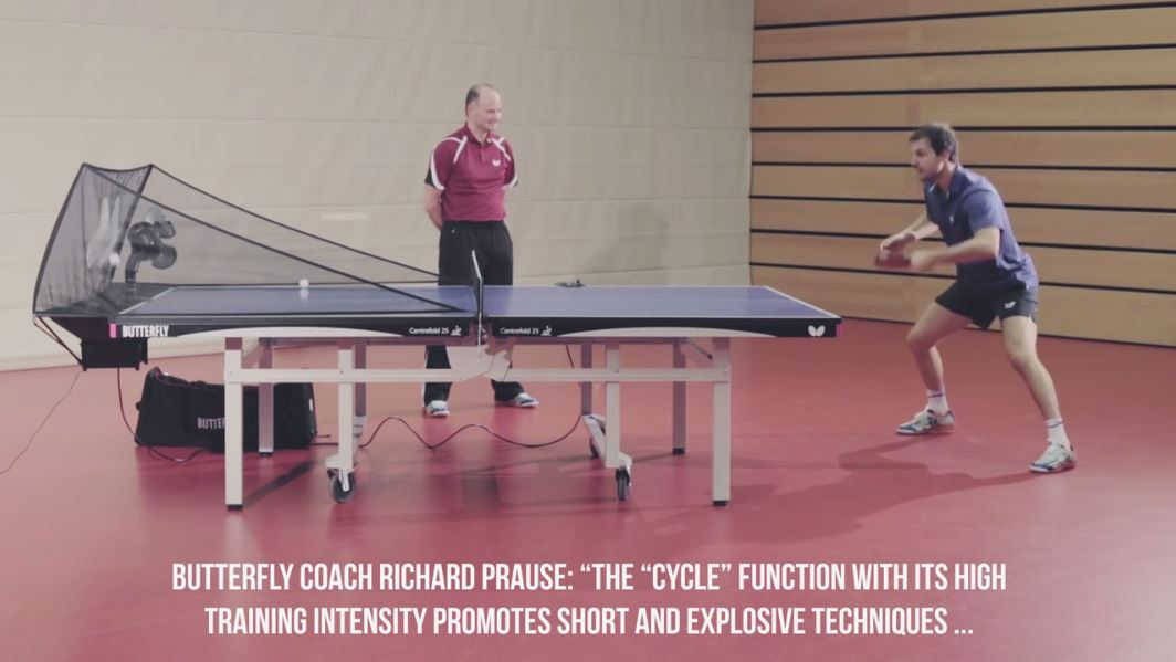 Butterfly Amicus Table Tennis Robot: A Tutorial with Timo Boll