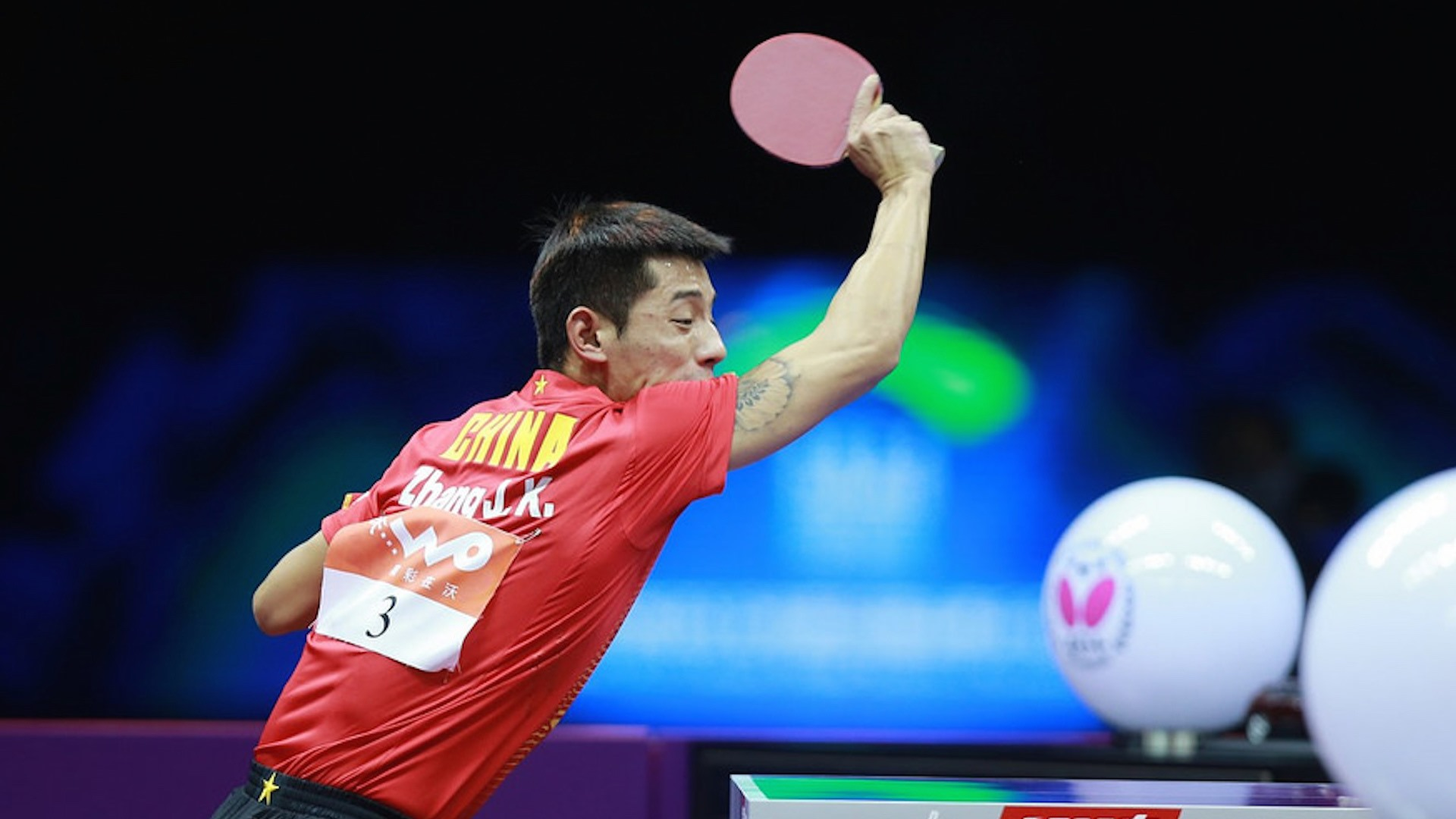 Zhang Jike Set To Surprise The World In 2017 Butterfly