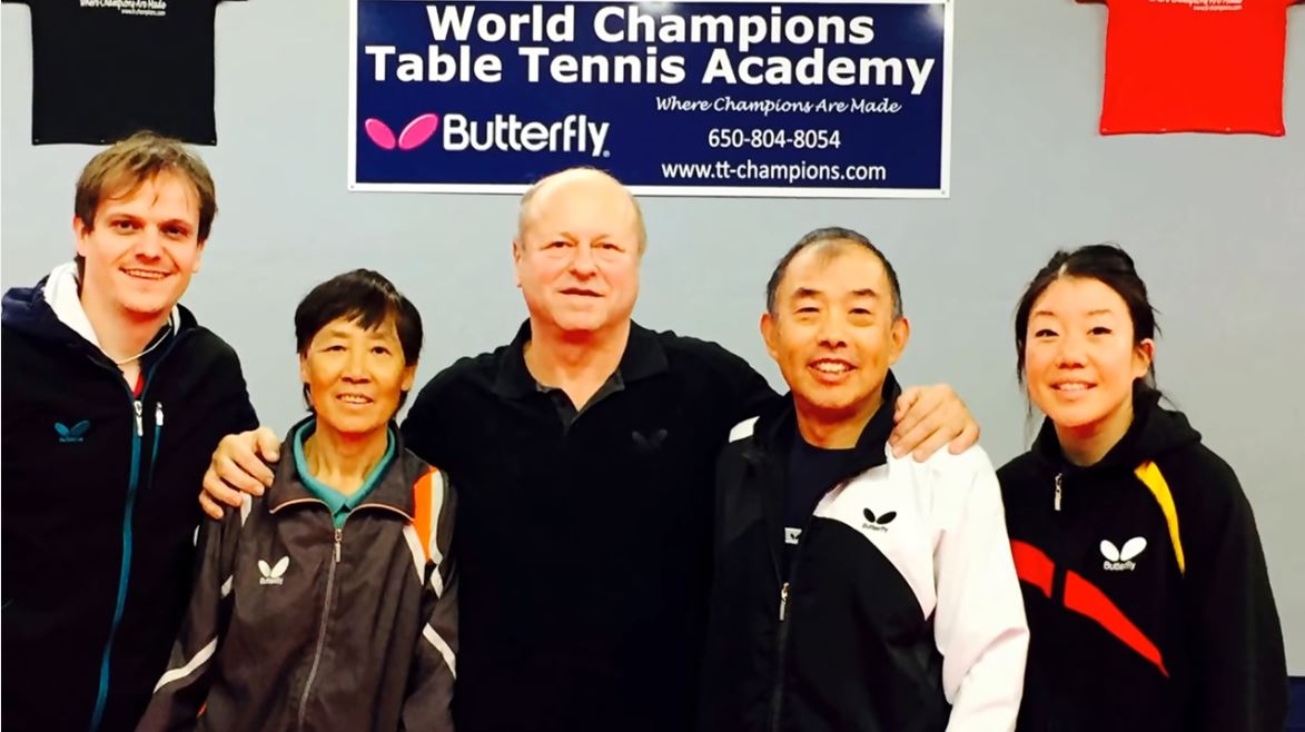 István Jonyer - 4x World Champion- visits WCTTA