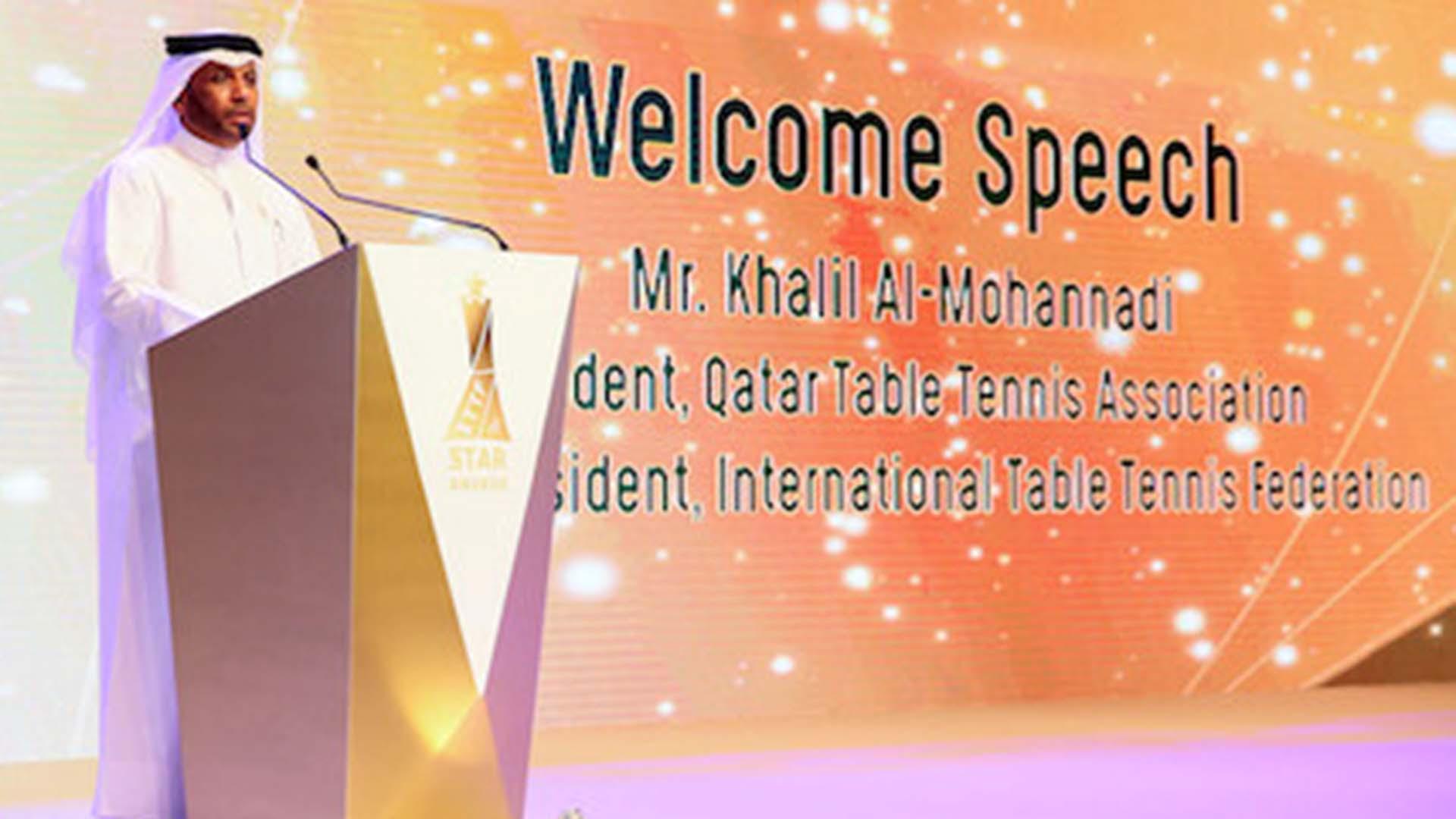 Khalil Al-Mohannadi announces candidacy for ITTF President
