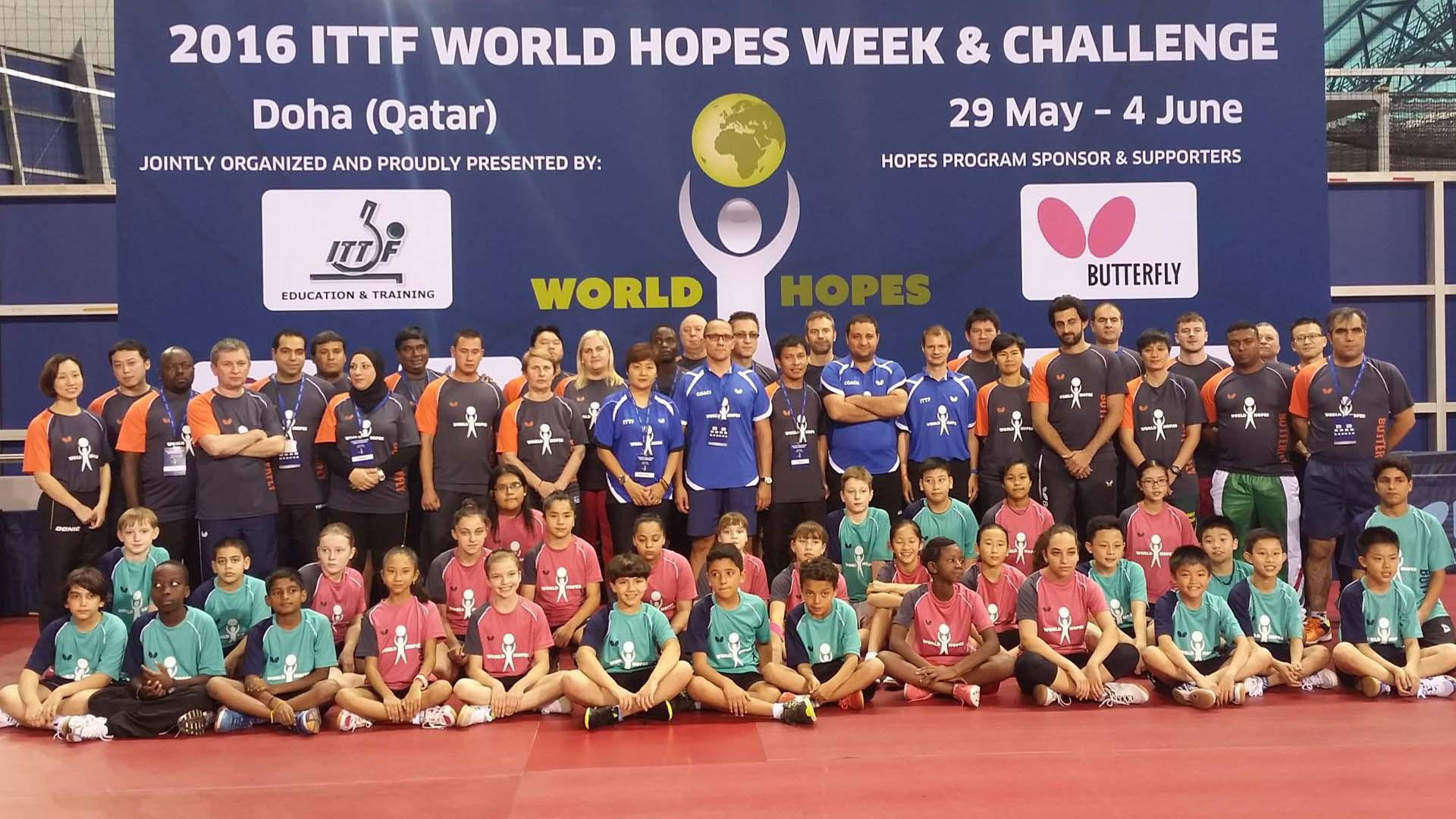 Year 18 of the ITTF Development and Education Programmes
