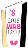 2016 WAB Top10 Table Tennis Clubs #8