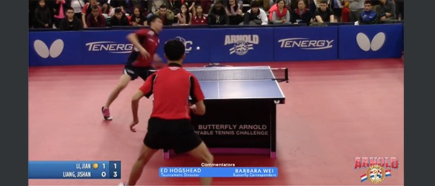 2017 Butterfly Arnold Table Tennis Challenge: Open Singles Finals