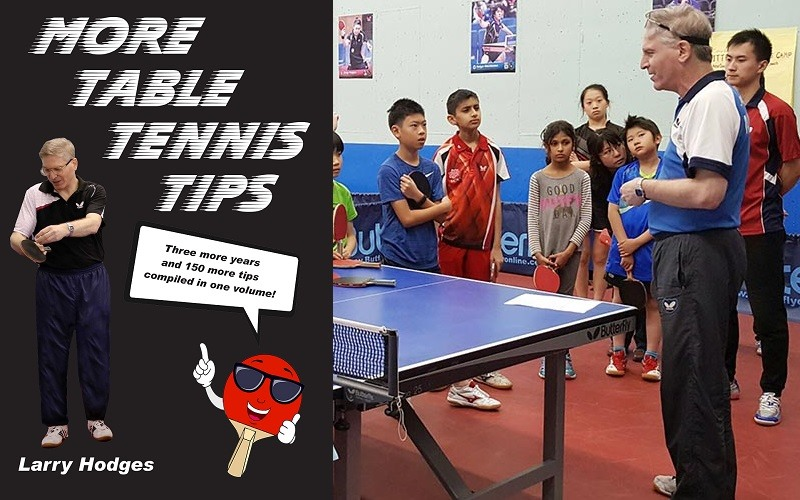 Phenomenal More Table Tennis Tips New Book From Larry Hodges Home Remodeling Inspirations Genioncuboardxyz