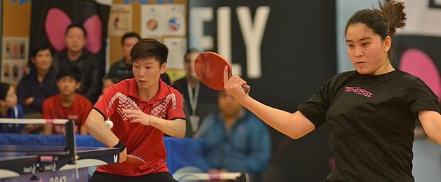 Nick Tio and Crystal Wang Round off 2017 US National Teams