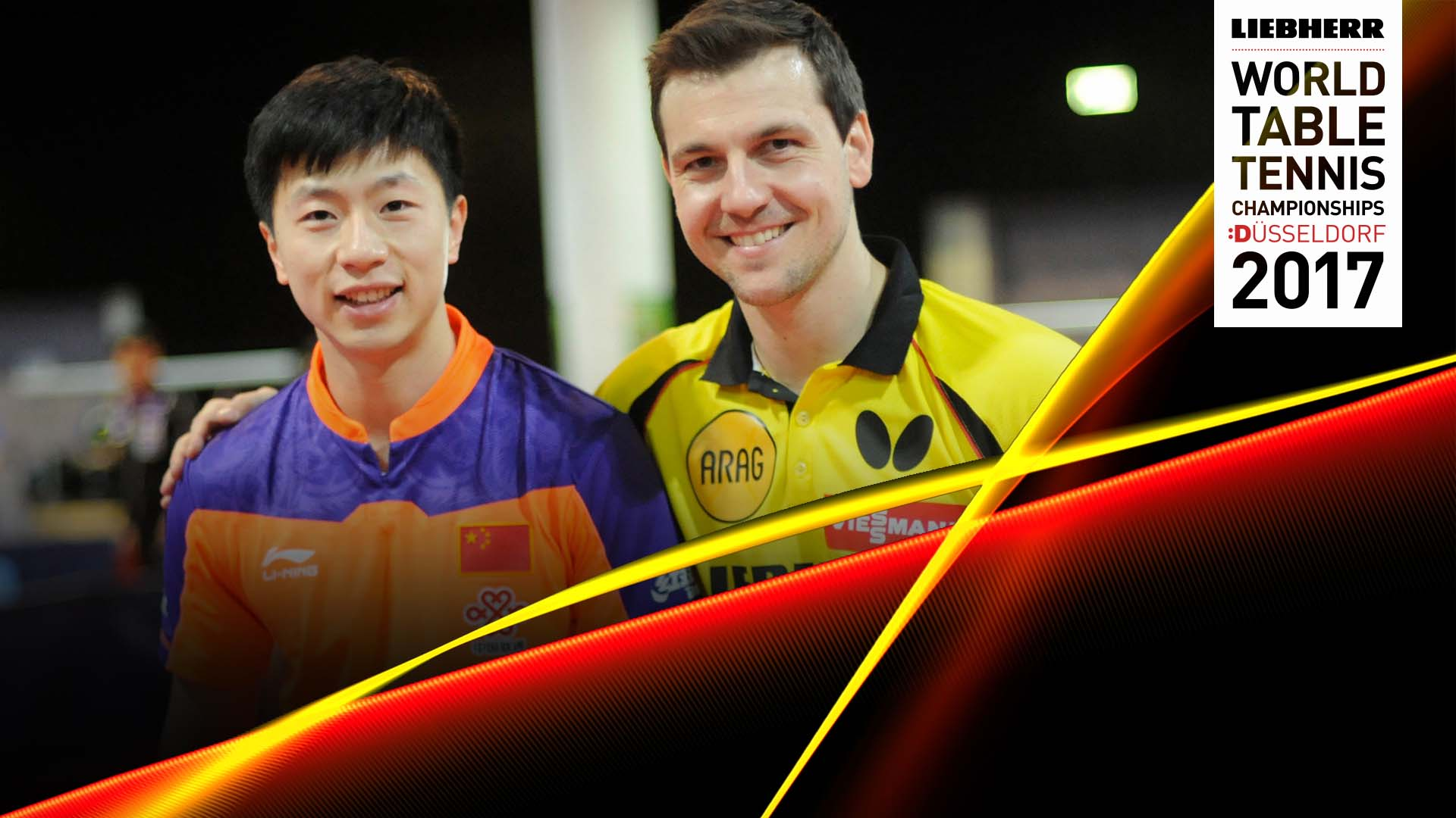Together Again Timo Boll And Ma Long Butterfly Online