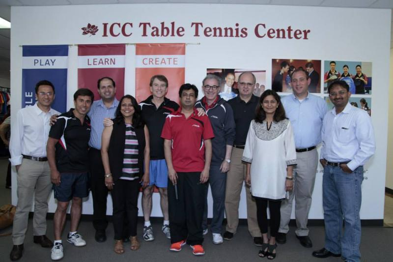 ICC Table Tennis Center: Annual TT Exhibition and Fundraiser