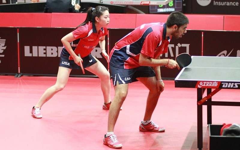 Zhang and Chodri Set For Center Court Mixed Doubles Showdown