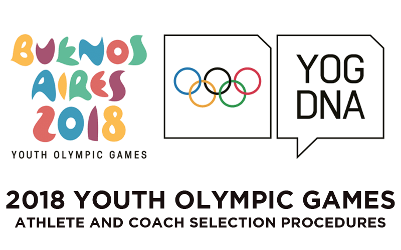 2018 Youth Olympic Games Selection Procedures
