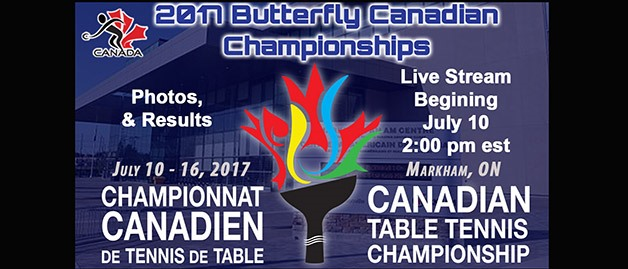 2017 Butterfly Canadian Championships Live Stream, Photos & Results