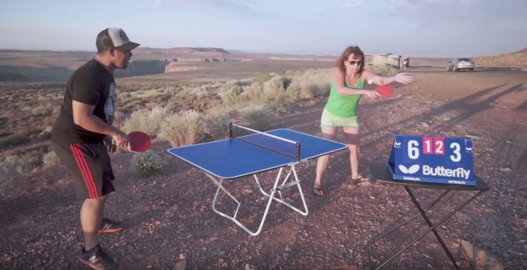 Aspire to Thrive - Cross-country Mini Table Tennis Grudge Match