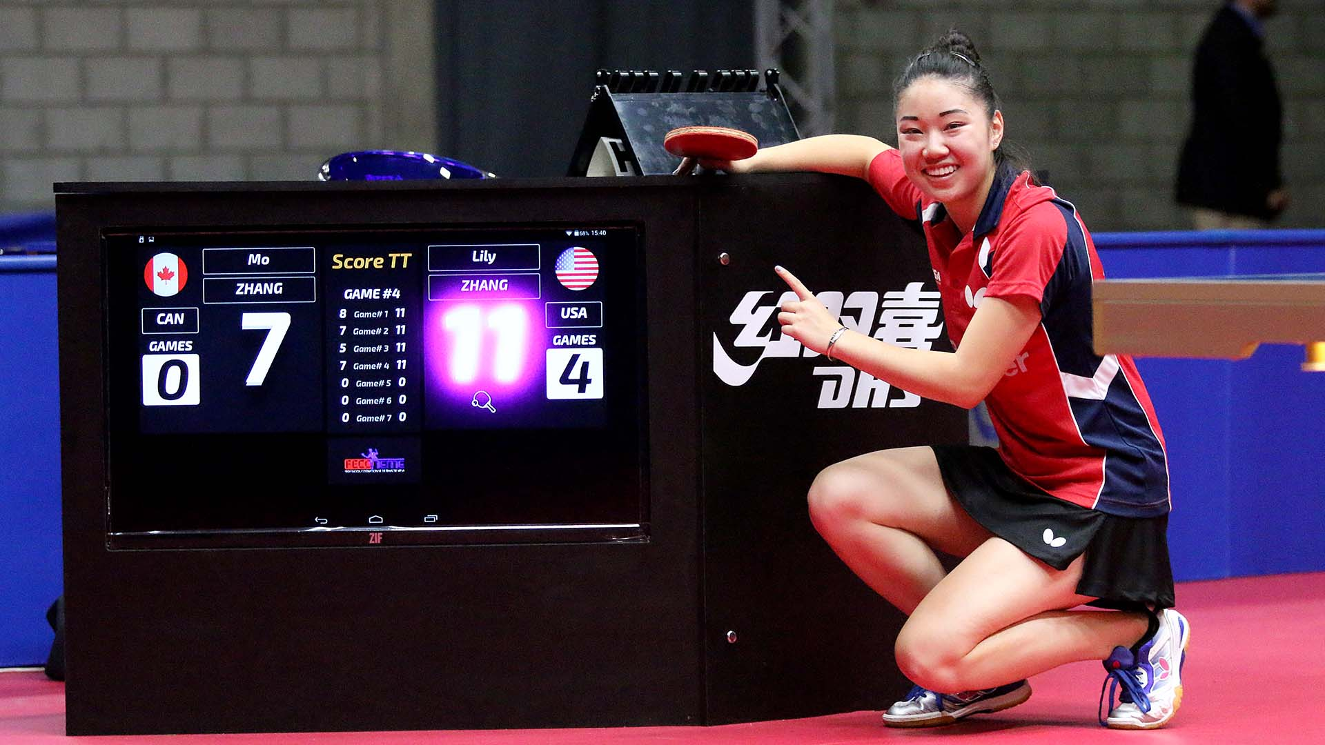 Lily Zhang responds, imposing performance secures title
