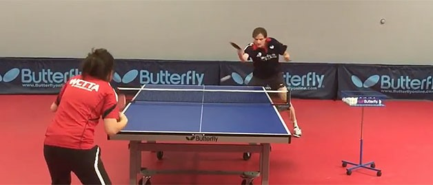 Butterfly Presents: Footwork Drills, Stefan Feth, Drill No. 5