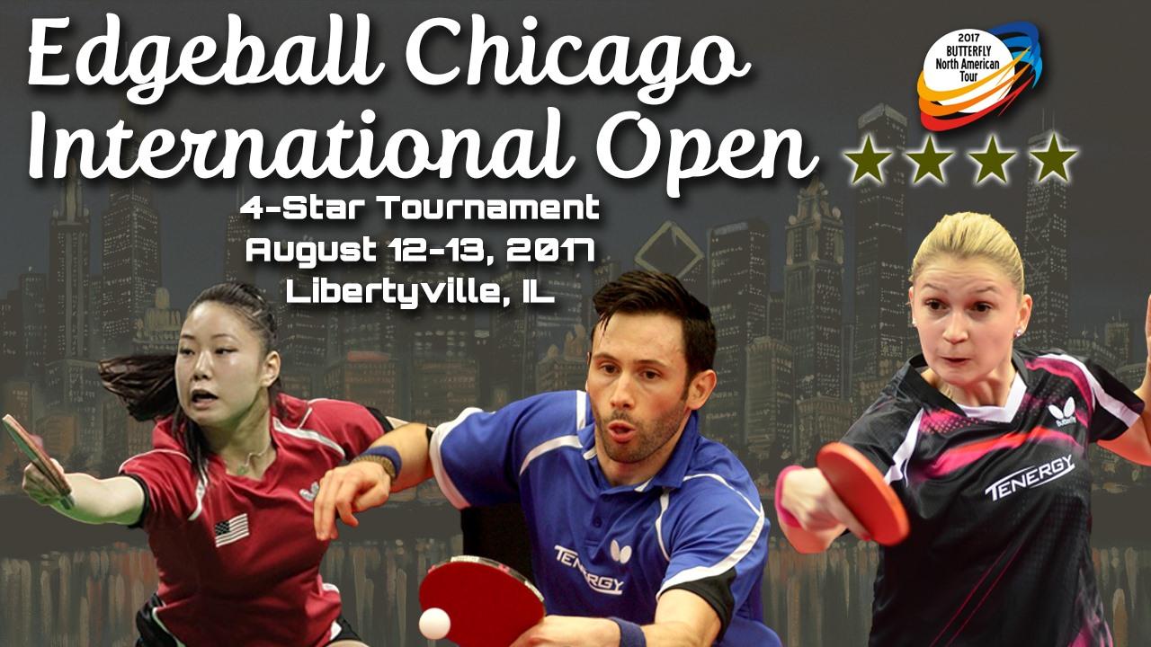 2017 Edgeball Chicago International Table Tennis Open