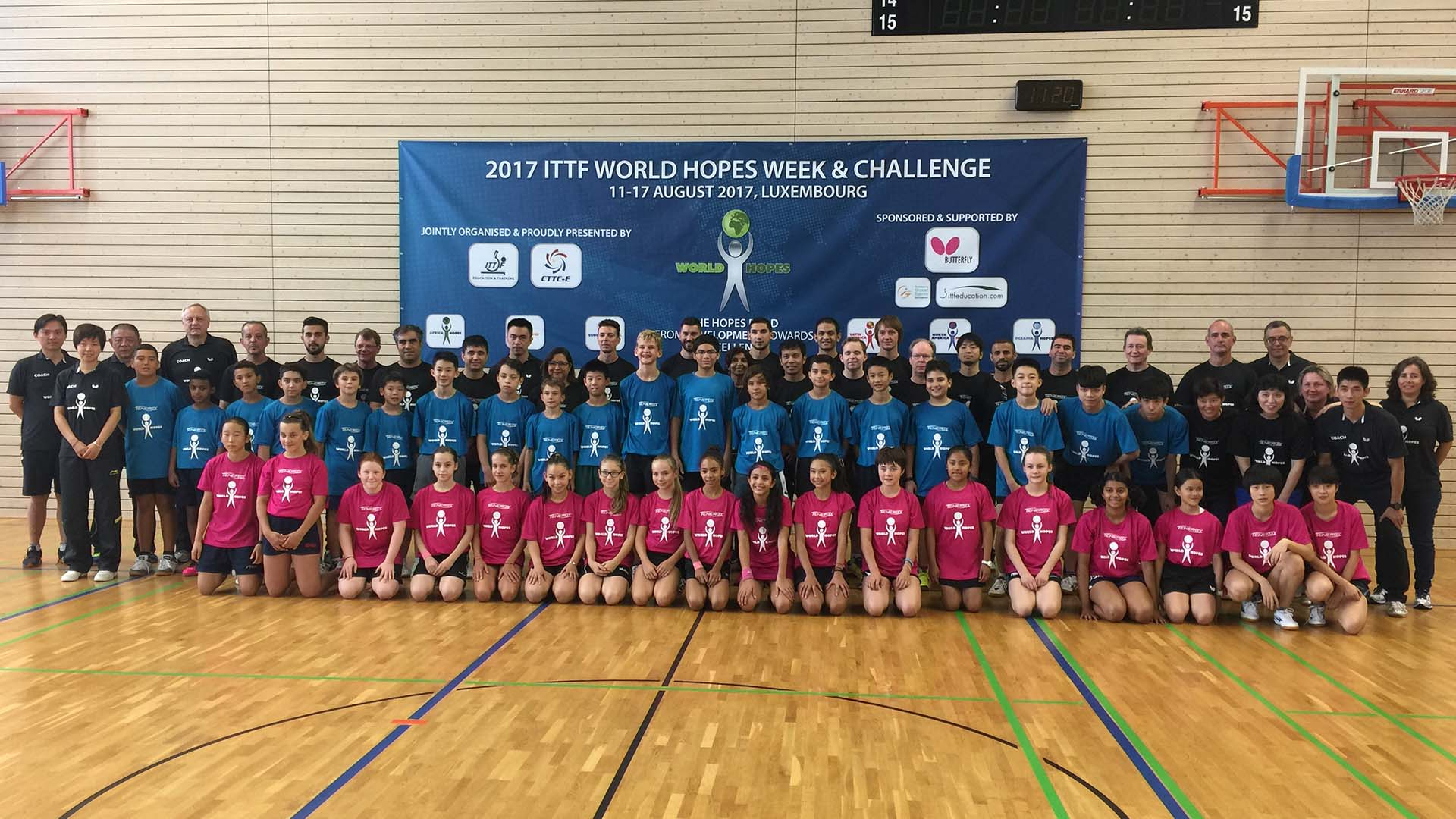 Bids open for 2018 ITTF World Hopes and Challenge