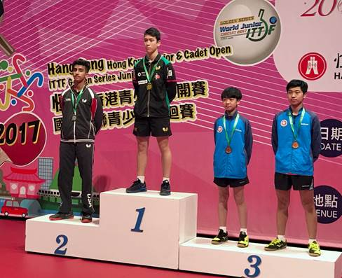 Breaking News - Last Day at the Hong Kong Junior/Cadet Open