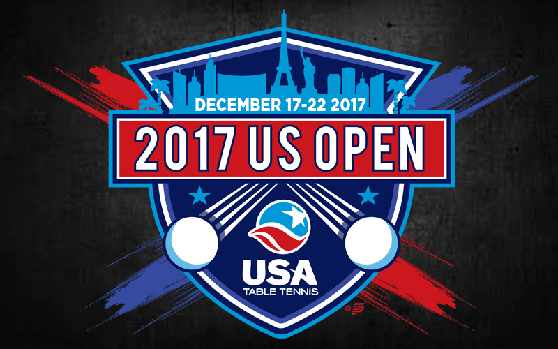 USATT Release Tentative Schedule for 2017 US Open Championships
