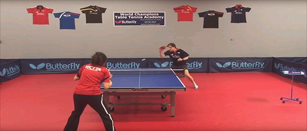Butterfly Presents: Footwork Drills, Stefan Feth, Drill No. 8
